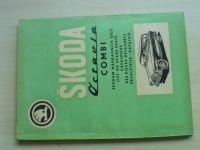 Škoda Octavia Combi - Seznam náhradních dílů (1968)