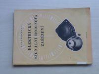 Vrdlovec - Elektrická signální hodinová zařízení (1956) Praktická příručka