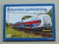 Železniční pohlednice (nedatováno)