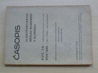Časopis vlasteneckého spolku musejního v Olomouci 1949 sv.1 - Hanácký žudr, Soupis lochů na Moravě