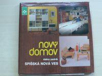Nový domov - Štátny podnik Spišská Nová ves (1990) výroba nábytku