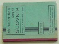 Hromada - Esperantsko-český slovník (1926)