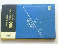 Kalužay - 500 riešených úloh z fyziky (1973) slovensky