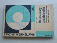 Maška - Řešené úlohy z matematiky - Stereometrie, trigonometrie, analytická geometrie (1967)