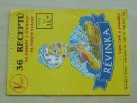 Sešity vaření Reva 1 - 36 receptů na pokrmy z těstovin na postní svátky (1997)