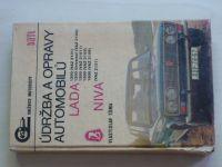 Tůma - Údržba a opravy automobilů Lada 1200, 1300, 1500, 1600, Niva VAZ 2121 (1978)