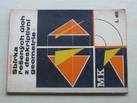 Horák - Sbírka řešených úloh z deskriptivní geometrie I.-II. (1966) 2 knihy