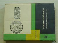 Kysel - Technologia II. - Piliarstvo a pridružená výroba (1972) slovensky