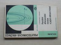Rychnovský, Výborná - Parciální diferenciální rovnice a jejich některá řešení (1970)