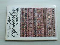 Strussová - Ľudová výšivka v súčasnosti (1982) slovensky
