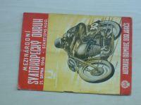 Mezinárodní Svatokopecký okruh 21. srpna 1949 - Autoklub Olomouc, prospekt
