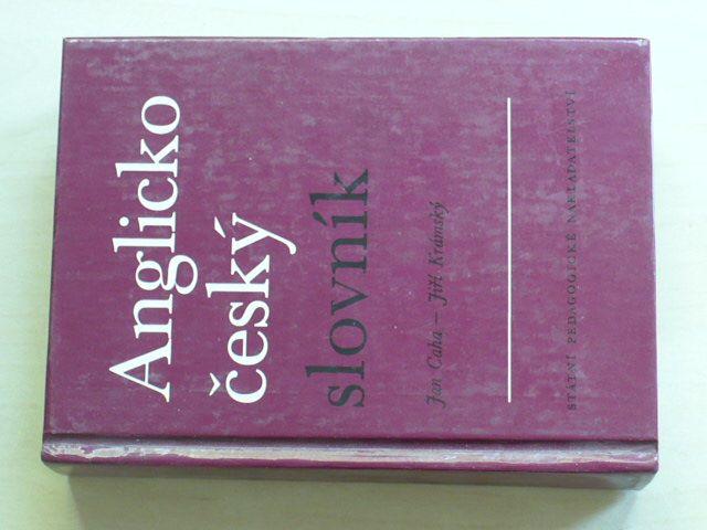 Caha, Krámský - Anglicko-český slovník (1991)