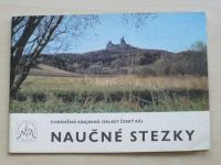 Chráněná krajinná oblast Český ráj - Naučné stezky (1984)