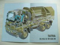 Tatra R 210.12 VV 6X6 M - Automobil terénní střední - ATS (nedatováno)