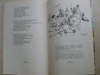 Vítězslav Nezval - Z domoviny (1975) kresby Dvorský, věnování ilustrátora