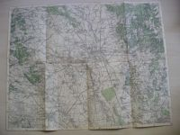 mapa Olomoc - Prostějov - Přerov - Litovel