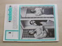 Melodie 1-12 (1980) ročník XVIII. (chybí čísla 2, 6, 9, 10, 8 čísel)