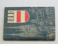 Orientační plán města Brna 1:15.000 (1959)