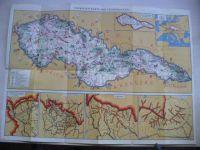 Touristen - Karte der Čechoslovakei (Neubert) německy, 30-tá léta 20.st.