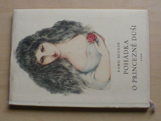Bednář - Pohádka o princezně Duši (1958) il. Jiřincová