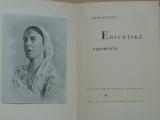 Mina Witkojc - Erfurtské vzpomínky (1947) Lužické Srbsko