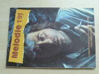 Melodie 1 (1991) ročník XXIX.