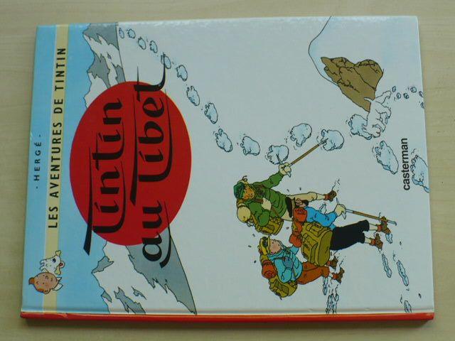 Hergé - Tintin Au Tibet (dobrodružství Tintina) (1999) francouzské vydání