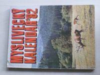 Myslivecký kalendář 1982 (1981)