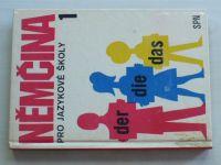 Höppnerová - Němčina pro jazykové školy 1 (1985)