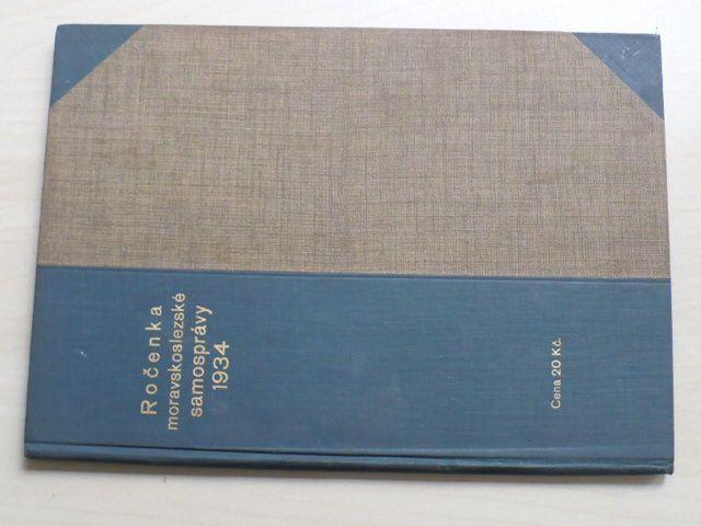 Ročenka moravskoslezské samosprávy (1934) ročník VIII.