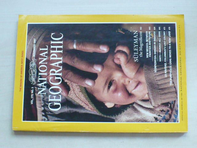 National Geographic (listopad 1987) anglicky