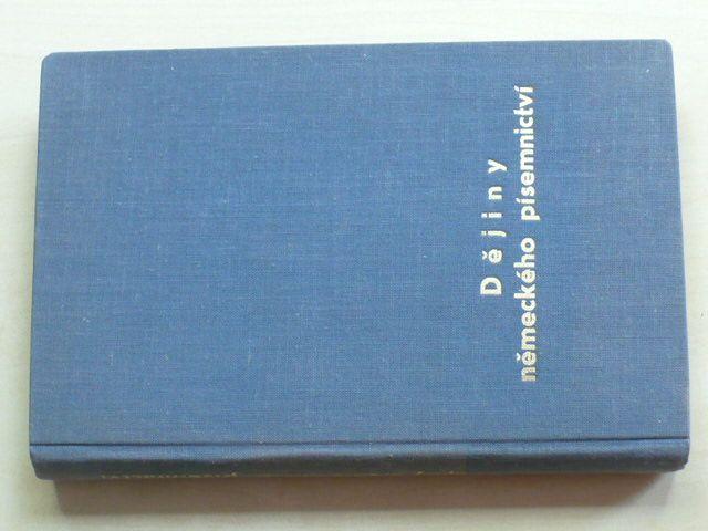 Sahánek - Přehledné dějiny německého písemnictví (1941)