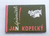 Kopecký - Zápisníček (1958) il. Miloš Nesvadba