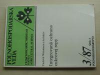Weismann - Integrovaná ochrana cukrovej repy (1987) cizojazyčné texty