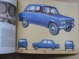 Lehký automobil VAZ 2101, 2, 3 (1975) rusky - konstrukce a údržba