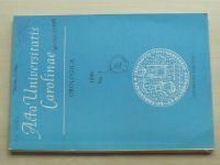 Acta Universitatis Carolinae - Geologica, č.3, 1988 (1989)