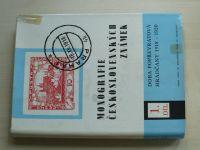 Monografie československých známek 1 - Doba popřevratová; Hradčany 1918-1920 (1968)