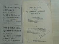 Kamenického toulky po Československé republice Díl II. (1934) Pražské okolí, Křivoklátské a brdské l