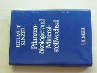 Kinzel - Pflanzen- ökologie und Mineral- stoffwechsel (1982)