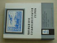 Monografie československých známek 4 - Známky letecké, novinové, doplatní, spěšné a doruční (1986)