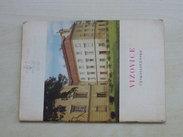 Petrů - Vizovice; Státní zámek (1970) Československo; česky, francouzsky, německy, anglicky a rusky