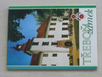 Šmíd - Třeboň zámek soubor 12 pohlednic;  česky, rusky, německy, anglicky, francouzsky