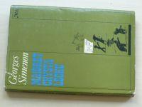 Simenon - Maigret chystá léčku, il. J.Šalamoun (1977)
