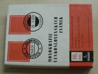 Monografie československých známek 16 (1982) I.-II. svazek (2 knihy)