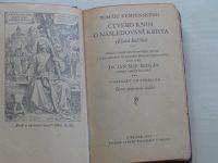 Tomáše Kempenského Čtvero knih o následování Krista (1930) Zlatá knížka