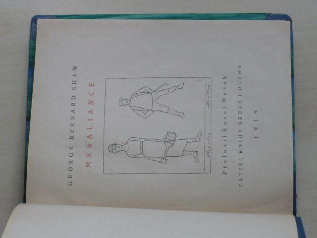 G. B. Shaw - Mesaliance (1919)