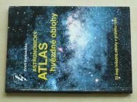 Karkoschka - Astronomický atlas hvězdné oblohy - 50 map hvězdné oblohy v průběhu roku (1995)