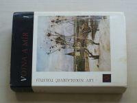 Tolstoj - Vojna a mír I-II (1969) 2 knihy
