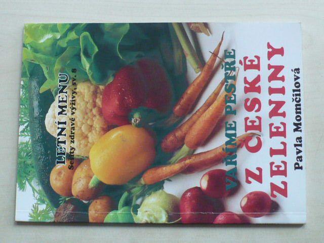 Momčilová - Vaříme pestře z české zeleniny I-II (1998) 2 knihy