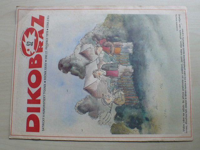 Dikobraz 52 (1978) ročník XXXIV.